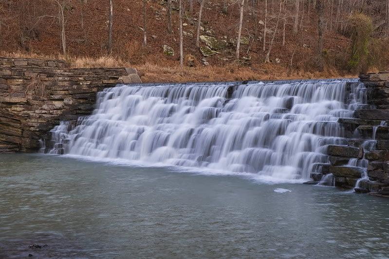 Dam at Devil's Den State Park