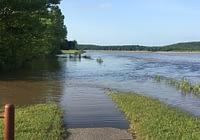 Flood at Sequoyah National Wildlife Refuge